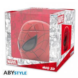 фото Чашка 3D Marvel Spider-man (Человек-паук), 350 мл (ABYMUG420) #3