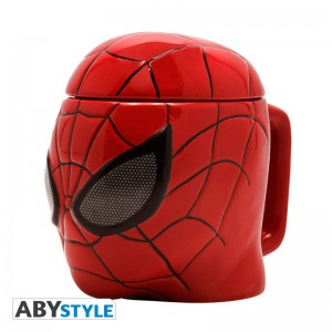 фото Чашка 3D Marvel Spider-man (Человек-паук), 350 мл (ABYMUG420) #5