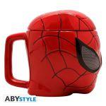Подарок Чашка 3D Marvel Spider-man (Человек-паук), 350 мл (ABYMUG420)