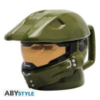 Подарок Чашка Halo 3D Mug Helmet, 300 мл (ABYMUG242)