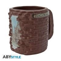 Подарок Чашка Harry Potter 'Diagon Alley', 320 мл (ABYMUG521)