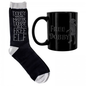 Подарок Подарочный набор для геймера ABYstyle Harry Potter -  чашка, носки Dobby (GIFPAL476)