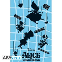 Подарок Постер ABYstyle Disney 'Alice / Falling (Алиса/Падение)', 91.5x61 см (ABYDCO529)