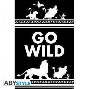 Подарок Постер ABYstyle Disney 'The Lion King Go Wild', 91.5x61 см (ABYDCO565)