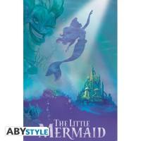 Подарок Постер ABYstyle Disney 'TLM/ Ariel & Ursula', 91.5x61 см (ABYDCO530)