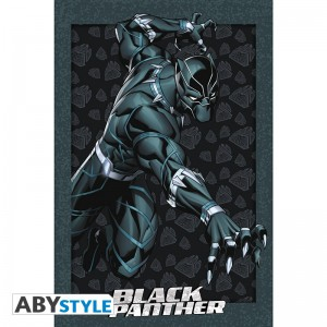 Подарок Постер ABYstyle Marvel 'Black Panther', 91.5x61 см (ABYDCO487)