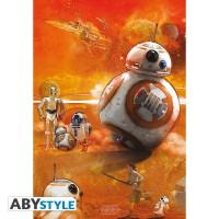 Подарок Постер  ABYstyle Star Wars 'BB8', 98x68 см (ABYDCO331)