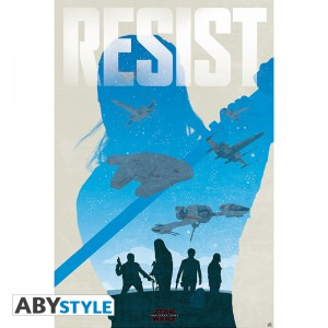 Подарок Постер  ABYstyle Star Wars 'Resist', 91.5x61 см (ABYDCO471)