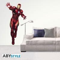 Подарок Наклейка ABYstyle Marvel - Iron Man (Железный человек), блистер (ABYDCO437)