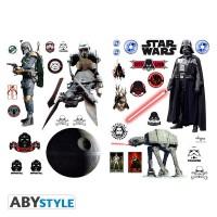 Подарок Наклейки ABYstyle Star Wars 'Empire (Империя)', блистер 100х70 см (ABYDCO057_B)