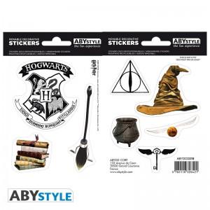 Подарок Наклейки ABYstyle Star Wars 'Harry Potter - Magical Objects', 16х11см, 2 листа (ABYDCO412)