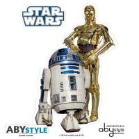 Подарок Наклейки ABYstyle Star Wars 'R2-D2/ C3PO', 16х11см/2 листа  (ABYDCO160)