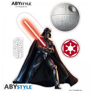 Подарок Наклейки ABYstyle Star Wars 'Vador/ Trooper X5', 16х11см/2 листа  (ABYDCO361)