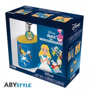 фото Подарочный набор ABYstyle Disney Alice (Алиса) - чашка 320 мл + брелок + блокнот (ABYPCK137) #6