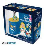 Подарок Подарочный набор ABYstyle Disney Alice (Алиса) - чашка 320 мл + брелок + блокнот (ABYPCK137)