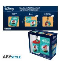 Подарок Подарочный набор ABYstyle Disney Little Mermaid (Русалочка) - чашка 320 мл + брелок + блокнот (ABYPCK138)