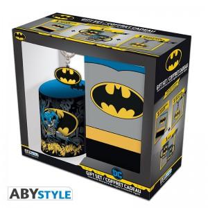 Подарок Подарочный набор DC Comics - Batman pack (чашка, брелок, блокнот Batman) (ABYPCK136)