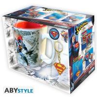 Подарок Подарочный набор DC Comics - Superman pack (чашка, брелок, знак Superman) (ABYPCK074)
