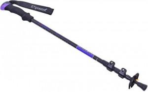 Треккинговая палка Exponent Черная с фиолетовым (TY-8009-V)
