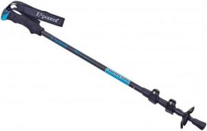 Треккинговая палка Exponent Черная с синим (TY-8009-B)