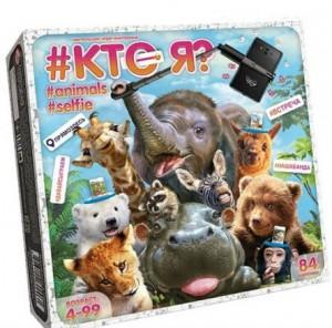 Настольная игра  Danko toys 'Кто я? Animals Selfie' (HIM-04-01)