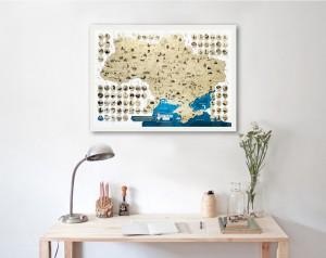 фото Скретч-карта України My Map Ukraine edition #2