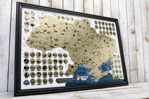 фото Скретч-карта України My Map Ukraine edition #12