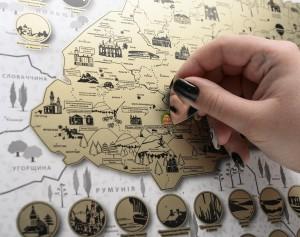фото Скретч-карта України My Map Ukraine edition #16