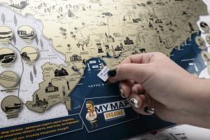 фото Скретч-карта України My Map Ukraine edition #8