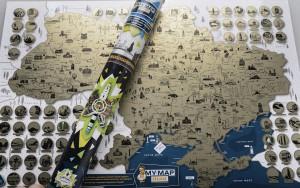 фото Скретч-карта України My Map Ukraine edition #7