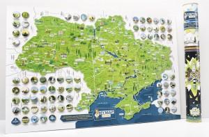 фото Скретч-карта України My Map Ukraine edition #5