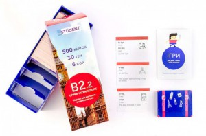Настольная игра English Student Карточки для изучения английского языка English Student Upper-Intermediate B2.2 (39122616)