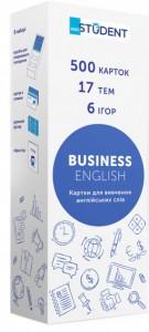 Настольная игра English Student Карточки для изучения бизнес английского языка English Student Bussiness English (41315776)