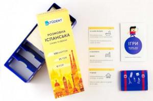 Настольная игра English Student Карточки для изучения разговорного испанского языка English Student (41313384)
