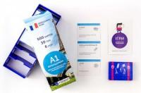 Настольная игра English Student Карточки для изучения французкого языка Для начинающих English Student A1 (59122619)