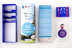фото Настольная игра English Student Карточки для изучения французкого языка Для начинающих English Student A1 (59122619) #6