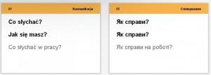 фото Настольная игра English Student Карточки для изучения разговорного польского языка English Student (39122656) #3