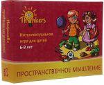 Настольная игра Finart Smart Solutions 'Thinkers 6-9 лет. Пространственное мышление' (Th-0606)