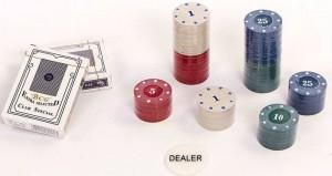 фото Настольная игра Johnshen Sports 'Покерный набор на 100 фишек с номиналом (жестяная коробка)' (IG-2033) #2