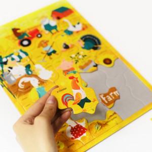 фото Настольная игра Пазл для детей English Student Ферма 30 шт (41315803) #4
