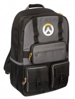 Подарок Рюкзак JINX Overwatch MVP Laptop Backpack, Black/Grey (JINX-7502)