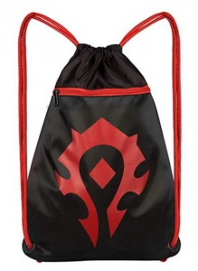 Подарок Сумка JINX World of Warcraft Horde Loot Bag 15, Black/Red (JINX-8623)