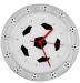 Подарок Часы настенные Футбольный сувенир 'Чемпион' (A 052)