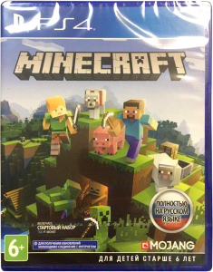 игра Minecraft: Bedrock Edition PS4 - русская версия