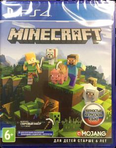 игра Minecraft: Bedrock Edition PS4 - русская версия