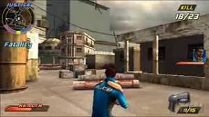 скриншот Pursuit Force Extreme Justice PSP #9