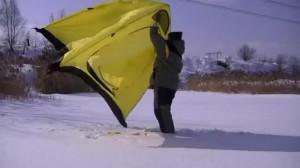 фото Палатка полуавт. Holiday Easy Ice 150x150см #4