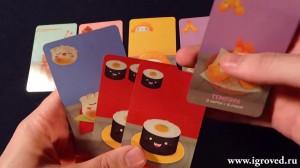 фото Настольная игра 'Суши карты' #7