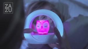 фото Ночник со звуковой активацией Zazu Lou Совенок розовый (ZA-LOU-03) #6