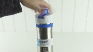 фото Термобутылка для воды Aladdin Active 0,6л синяя (6939236337229) #5